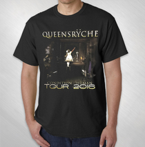 Queensryche - 2016 Condition Human European Tour Tee