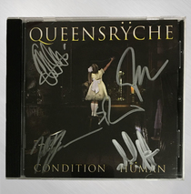 Queensryche - Condition Human Signed CD