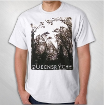 Queensryche - Men's White Trees Tee