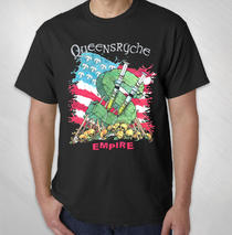Queensryche - 2015 Men's Needles Tour Tee