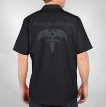 Queensryche - Men's Triryche Work Shirt