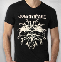 Queensryche - 2017 Crazy Bones Tour Tee