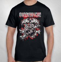 Queensryche - 2018 Men's Stabbing Skull Tour Tee