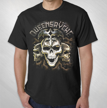 Queensryche - 2018 3 Skulls Tour Tee