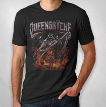 Queensryche -  2019  Men's Grim Reaper Tour Tee (Mar - Jul)