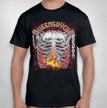Queensryche - 2020 Men's Rib Cage Tour Tee
