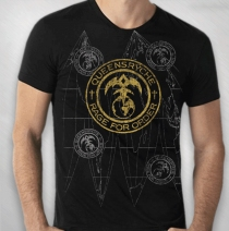 Queensryche - Rage For Order All-Over song back tee