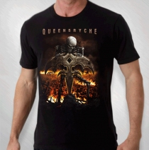 Queensryche - Men's Skeleton Climber Tour Tee