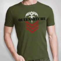 "Queensryche - Men's ""Sarge"" Tour Tee"