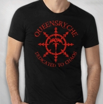 Queensryche - Men's Red DTC World Tour Tee