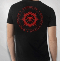Queensryche - Red DTC World Tour Tee