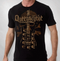 Queensryche - 2011 Men's Whip Guitar Tour Tee