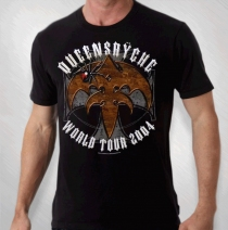 Queensryche - Men's Spider Art Of Live Red Tour Tee