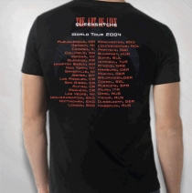 Queensryche - Spider Art Of Live RED Tour Tee
