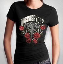 Queensryche -  Women's Roses Tee