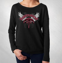 Queensryche - Women's Wings Scoop Long Sleeve