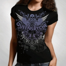 Queensryche - Women's Flourish Tee