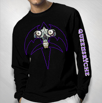 Queensryche - Men's Triryche Skull Long Sleeve