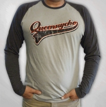 Queensryche - Men's Script Baseball Jersey