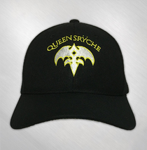 Queensryche - Yellow Tri-ryche Embroidered Hat