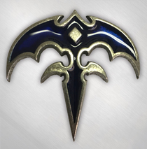 Queensryche - Blue Triryche Enamel Pin