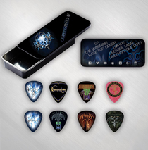Queensryche - Guitar Pick Tin w/ 8 Picks