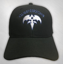 Queensryche - Blue Triryche Embroidered Hat
