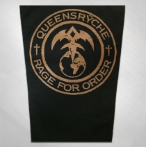 Queensryche - Rage For Order Back Patch