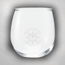 Queensryche - DTC Stemless Wine Glass