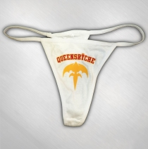 Queensryche - White Thong - Gold/Red