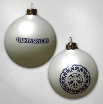 Queensryche  -    White Snowflake Ornament