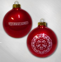 Queensryche  -    Red Snowflake Ornament