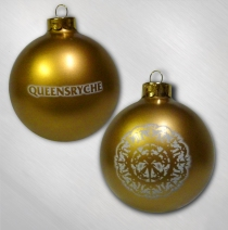 Queensryche  -    Gold Snowflake Ornament