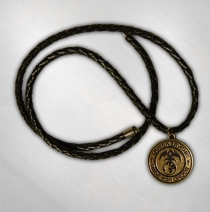 Queensryche - Gold Rage Medallion Necklace