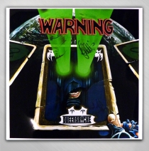 Queensryche - Warning Signed Poster