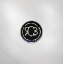 Rob Carlton - RCB Logo - Small Button