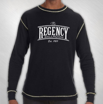 Regency Ballroom - Logo Thermal