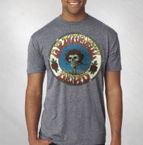 RET -  Grateful Dead - Distressed Skull and Roses Tee