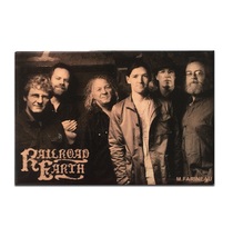 Railroad Earth - Band Photo Magnet