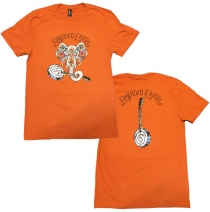 Railroad Earth - Men's Burnt Orange Elephant Tee