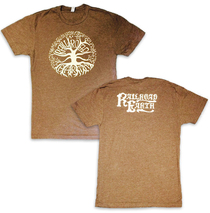 Railroad Earth - Men's Heather Brown Tree Tee