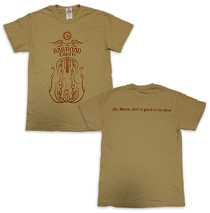 Railroad Earth - Men's Tan Fiddle Tee