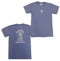 Railroad Earth - Men's Blue Blessed are the Hobos Tee