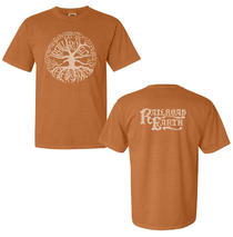 Railroad Earth - Men's Dyed Yam Tree Logo Tee