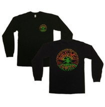 Railroad Earth - Men's Rasta Tree Long Sleeve