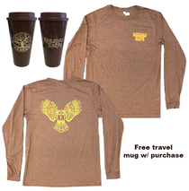 Railroad Earth - Men's Owl Long Sleeve