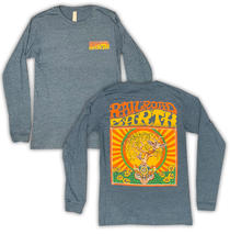 Railroad Earth - Men's Heather Teal Owl Tree Long Sleeve