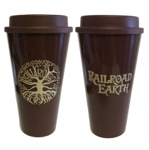 Railroad Earth - Tree Beverage Tumbler with Lid