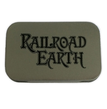 Railroad Earth - Logo Stash Tin