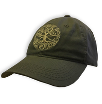 Railroad Earth - Grey Tree Logo Cap